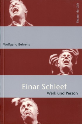 Cover Einar Schleef. Werk und Person