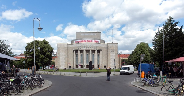Volksbühne, Berlin. Foto: David Baltzer