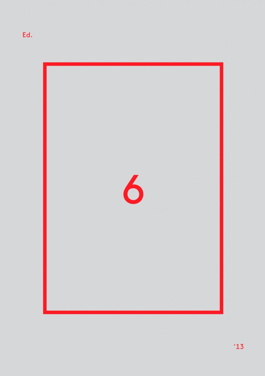"""Edition Berliner Festspiele Nr. 6"""