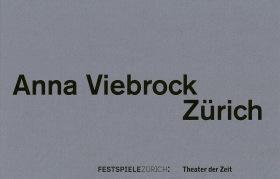 Cover Anna Viebrock Zürich