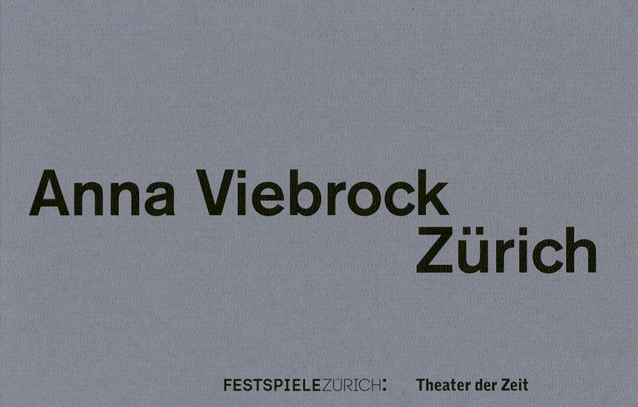 """""""Anna Viebrock Zürich"""""""