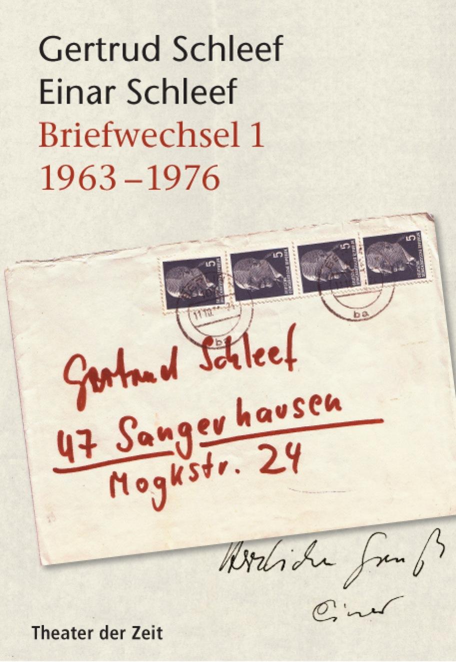 Briefwechsel 1 (1963 – 1976)