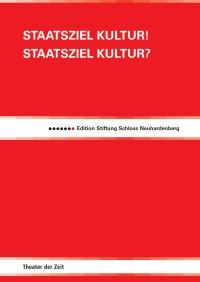 Cover Edition Stiftung Schloss Neuhardenberg 1
