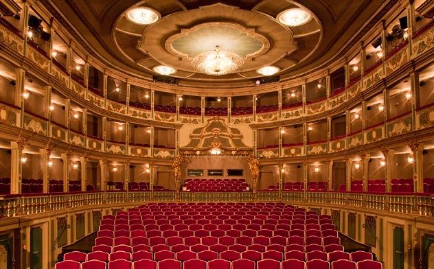 Das Markgrafentheater in Erlangen, Foto Jochen Quast