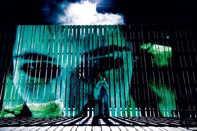 Die Frau vom Meer von Henrik Ibsen, Regie: Katja Ott, 2009/2010, Foto: Jochen Quast