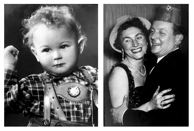 Im Alter von zwei Jahren – die Eltern 1951. (c) Martin Valentin Menke/zero one film