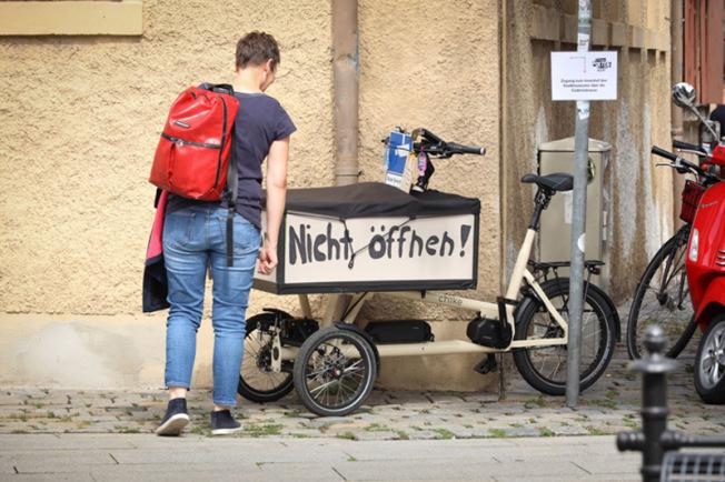 Foto: Ariel Doron, Do not open! Foto Erich Malter Copyright: Erlanger Poetenfest 2020