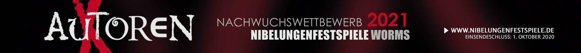 Autorenwettbewerb der Nibelungen Festspiele in Worms 2021