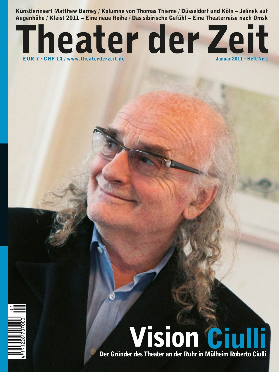 Theater der Zeit 01/2011