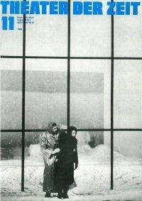 Theater der Zeit 11/1980