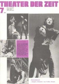 Theater der Zeit 07/1980
