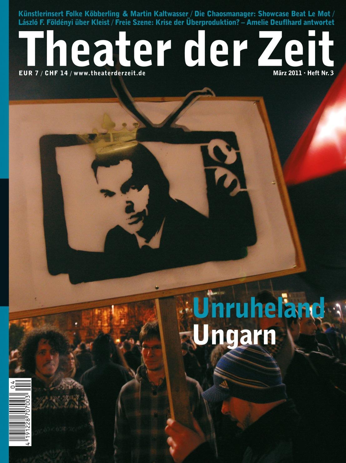Theater der Zeit 03/2011
