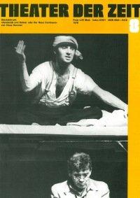 Theater der Zeit 08/1979