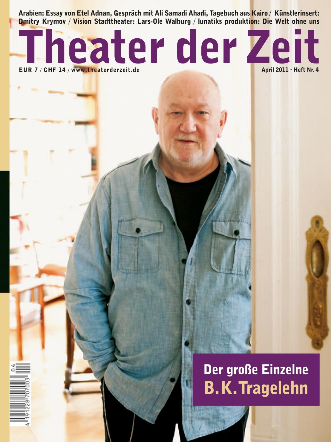 Theater der Zeit 04/2011