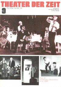 Theater der Zeit 09/1976