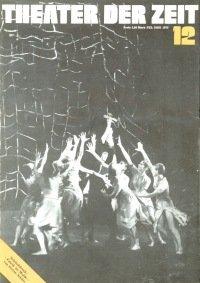Theater der Zeit 12/1975