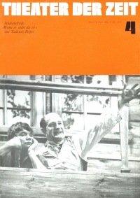 Theater der Zeit 04/1975