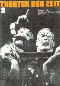 Theater der Zeit 08/1974