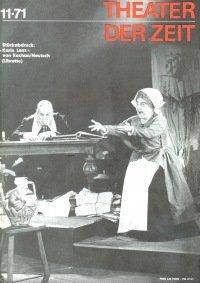 Theater der Zeit 11/1971
