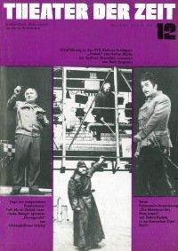 Theater der Zeit 12/1973