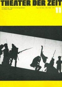 Theater der Zeit 11/1973