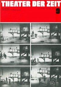 Theater der Zeit 09/1973