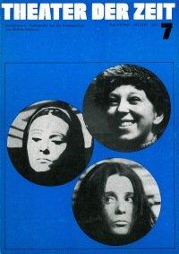 Theater der Zeit 07/1973