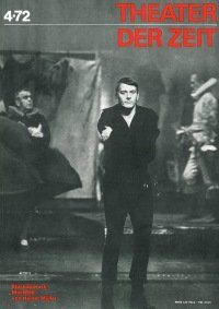Theater der Zeit 04/1972