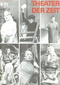 Theater der Zeit 08/1971