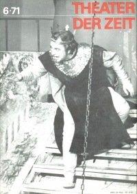 Theater der Zeit 06/1971