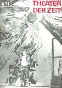Theater der Zeit 04/1971