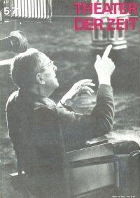 Theater der Zeit 05/1971
