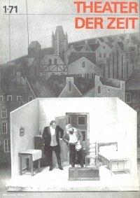 Theater der Zeit 01/1971