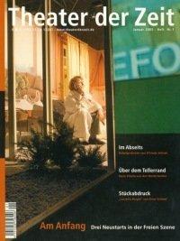 Theater der Zeit 01/2005