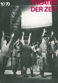 Theater der Zeit 10/1970