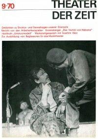 Theater der Zeit 09/1970