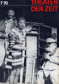 Theater der Zeit 07/1970