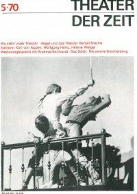 Theater der Zeit 05/1970
