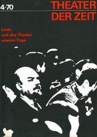 Theater der Zeit 04/1970