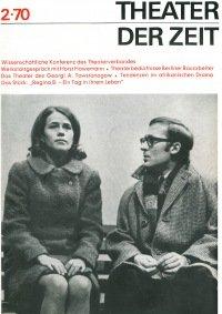 Theater der Zeit 02/1970