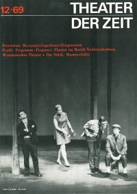 Theater der Zeit 12/1969
