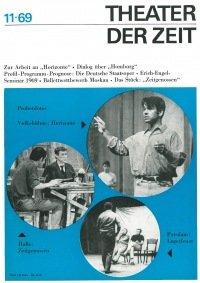Theater der Zeit 11/1969