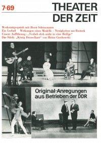 Theater der Zeit 07/1969