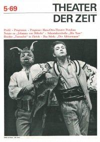 Theater der Zeit 05/1969