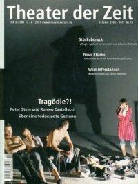 Theater der Zeit 10/2005