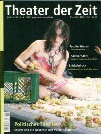 Theater der Zeit 11/2005