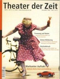 Theater der Zeit 12/2005