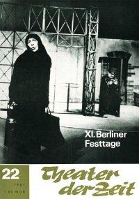Theater der Zeit 22/1967