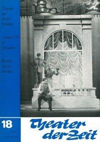 Theater der Zeit 18/1967