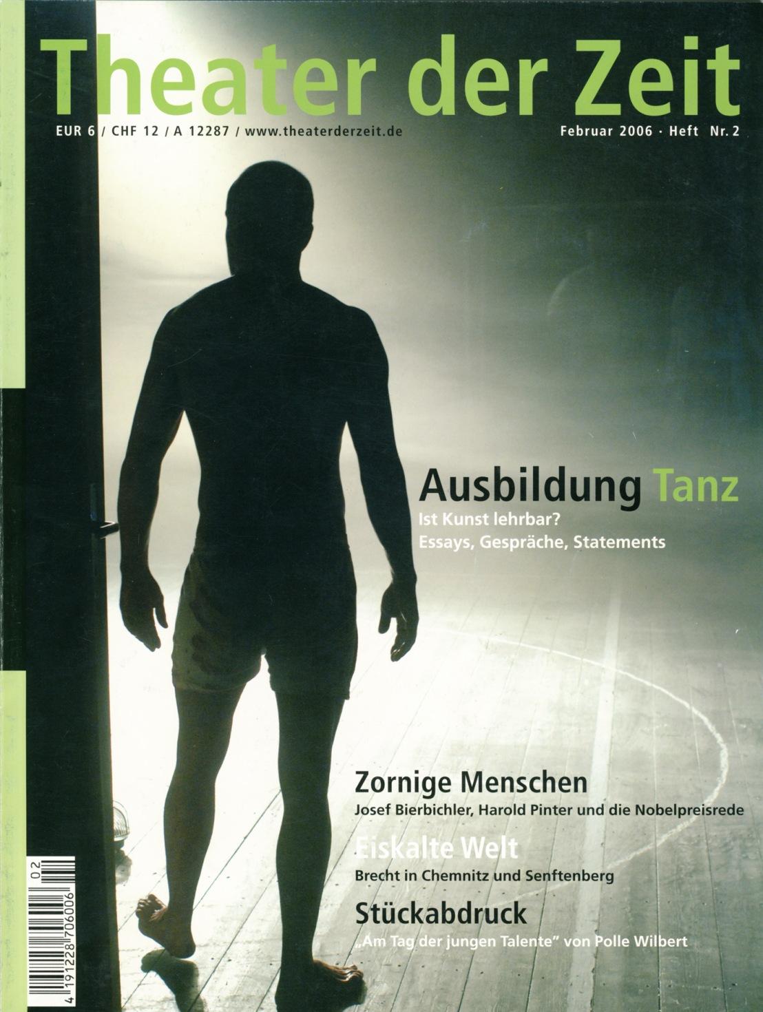 Theater der Zeit 02/2006